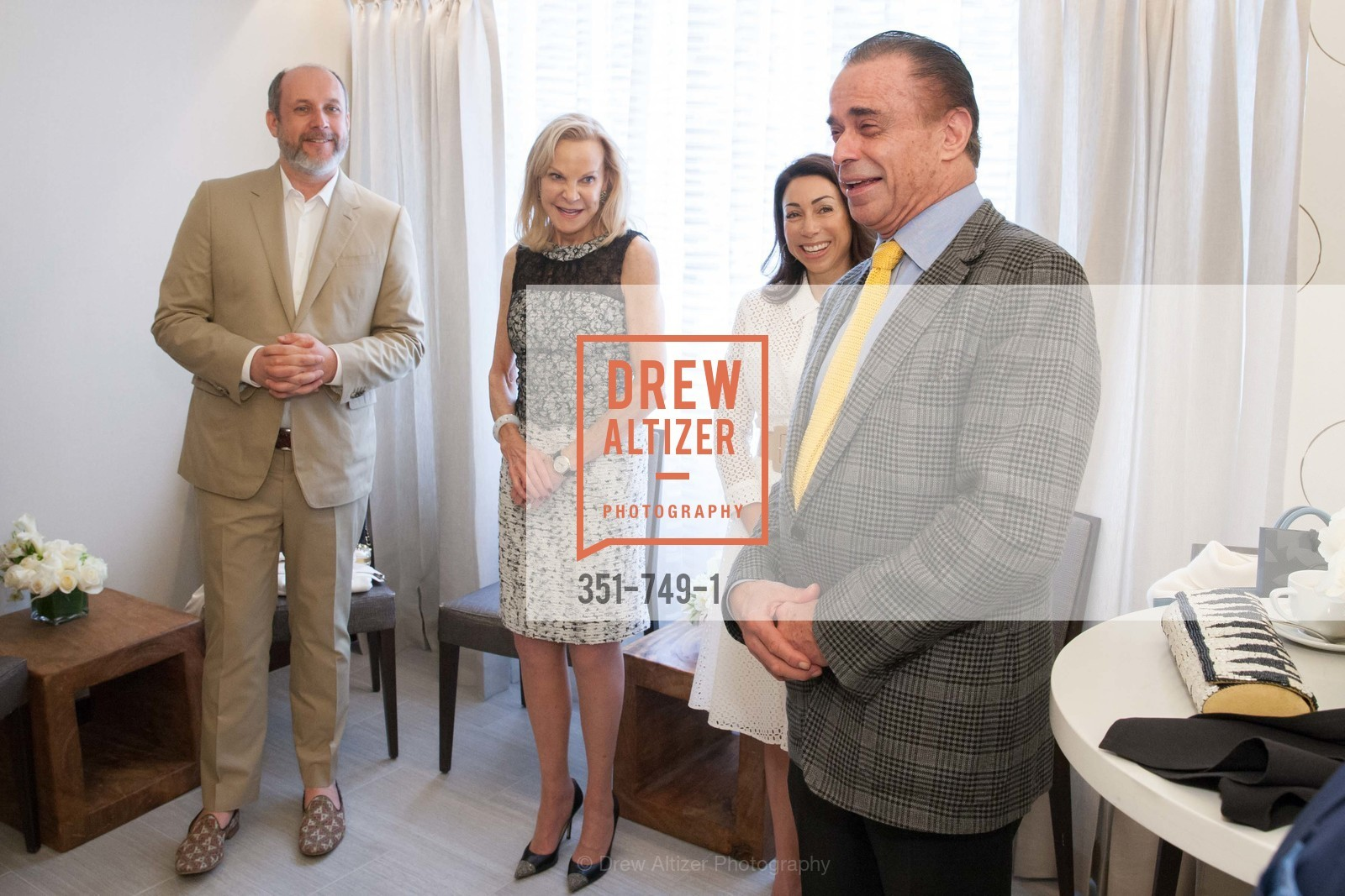 Peter Copping, Carole McNeil, Gina Peterson, Boaz Mazor, PETER COPPING Meets and Greets OSCAR DELA RENTA Clients and Associates at NEIMAN MARCUS, US, May 23rd, 2015,Drew Altizer, Drew Altizer Photography, full-service agency, private events, San Francisco photographer, photographer california