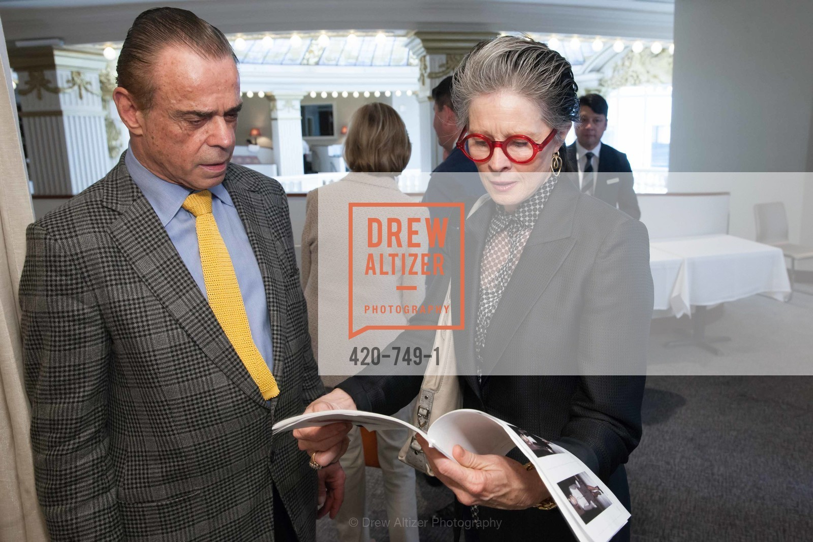 Boaz Mazor, Meriwether McGattigan, PETER COPPING Meets and Greets OSCAR DELA RENTA Clients and Associates at NEIMAN MARCUS, US, May 22nd, 2015,Drew Altizer, Drew Altizer Photography, full-service agency, private events, San Francisco photographer, photographer california