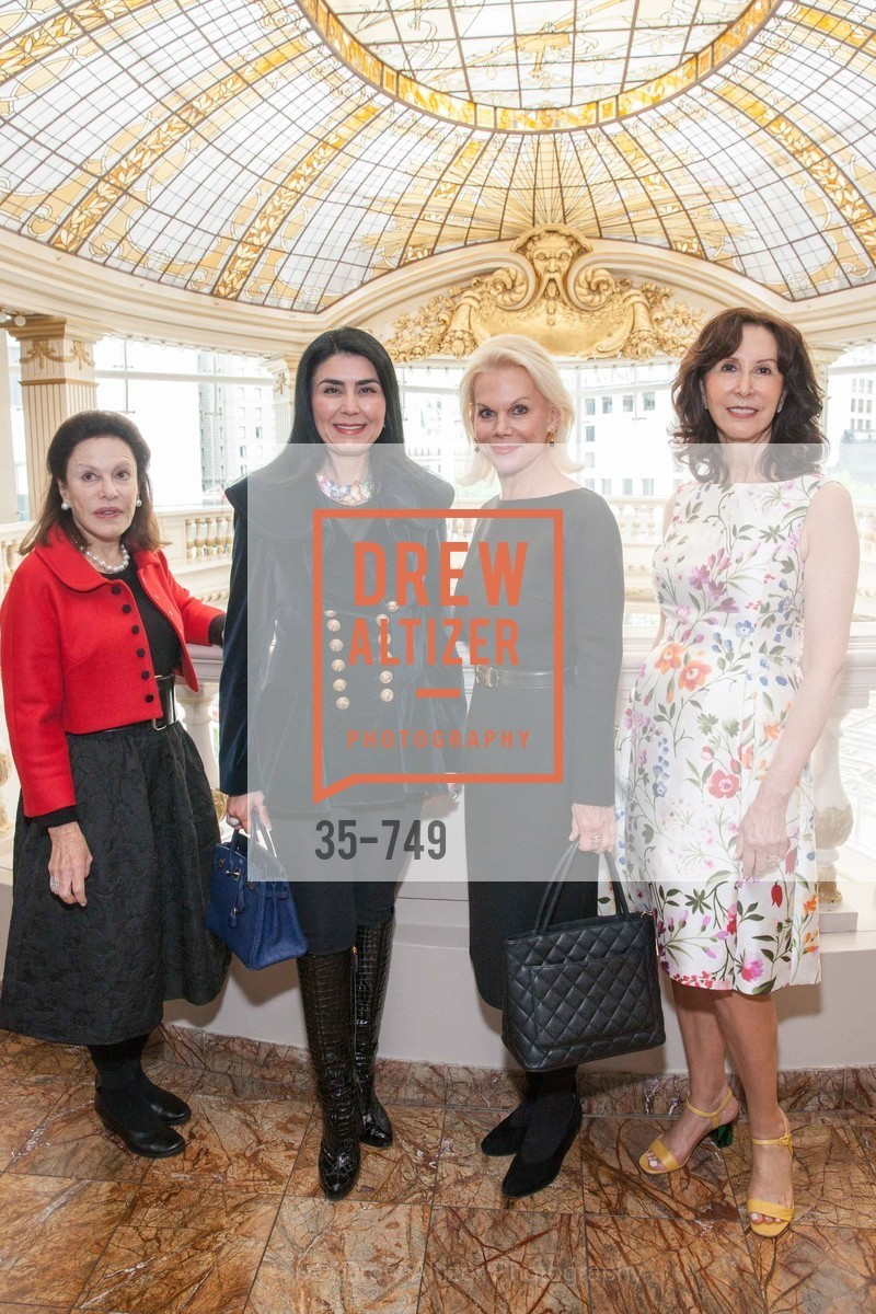 Francoise Skurman, Afsaneh Akhtari, Sandra Farris, Carolyn Chandler, PETER COPPING Meets and Greets OSCAR DELA RENTA Clients and Associates at NEIMAN MARCUS, US, May 23rd, 2015,Drew Altizer, Drew Altizer Photography, full-service agency, private events, San Francisco photographer, photographer california