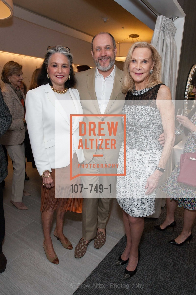 Diane Chapman, Peter Copping, Carole McNeil, PETER COPPING Meets and Greets OSCAR DELA RENTA Clients and Associates at NEIMAN MARCUS, US, May 23rd, 2015,Drew Altizer, Drew Altizer Photography, full-service agency, private events, San Francisco photographer, photographer california