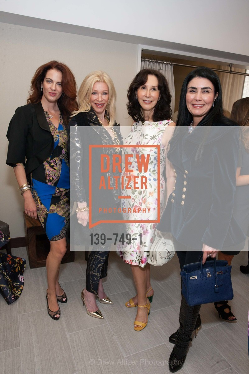Nicole Needham, Pamala Deikel, Carolyn Chandler, Afsaneh Akhtari, PETER COPPING Meets and Greets OSCAR DELA RENTA Clients and Associates at NEIMAN MARCUS, US, May 23rd, 2015,Drew Altizer, Drew Altizer Photography, full-service agency, private events, San Francisco photographer, photographer california