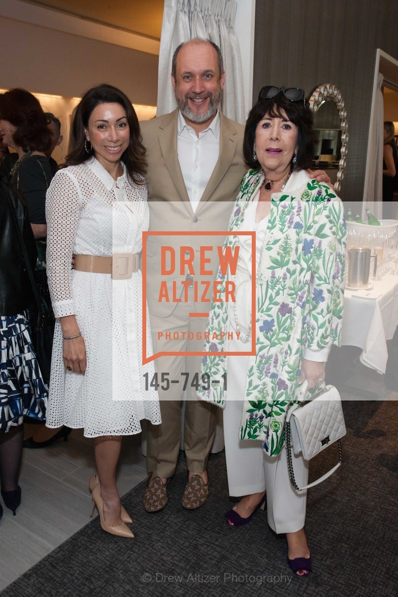 Gina Peterson, Peter Copping, Cyril Seligman, PETER COPPING Meets and Greets OSCAR DELA RENTA Clients and Associates at NEIMAN MARCUS, US, May 23rd, 2015,Drew Altizer, Drew Altizer Photography, full-service agency, private events, San Francisco photographer, photographer california