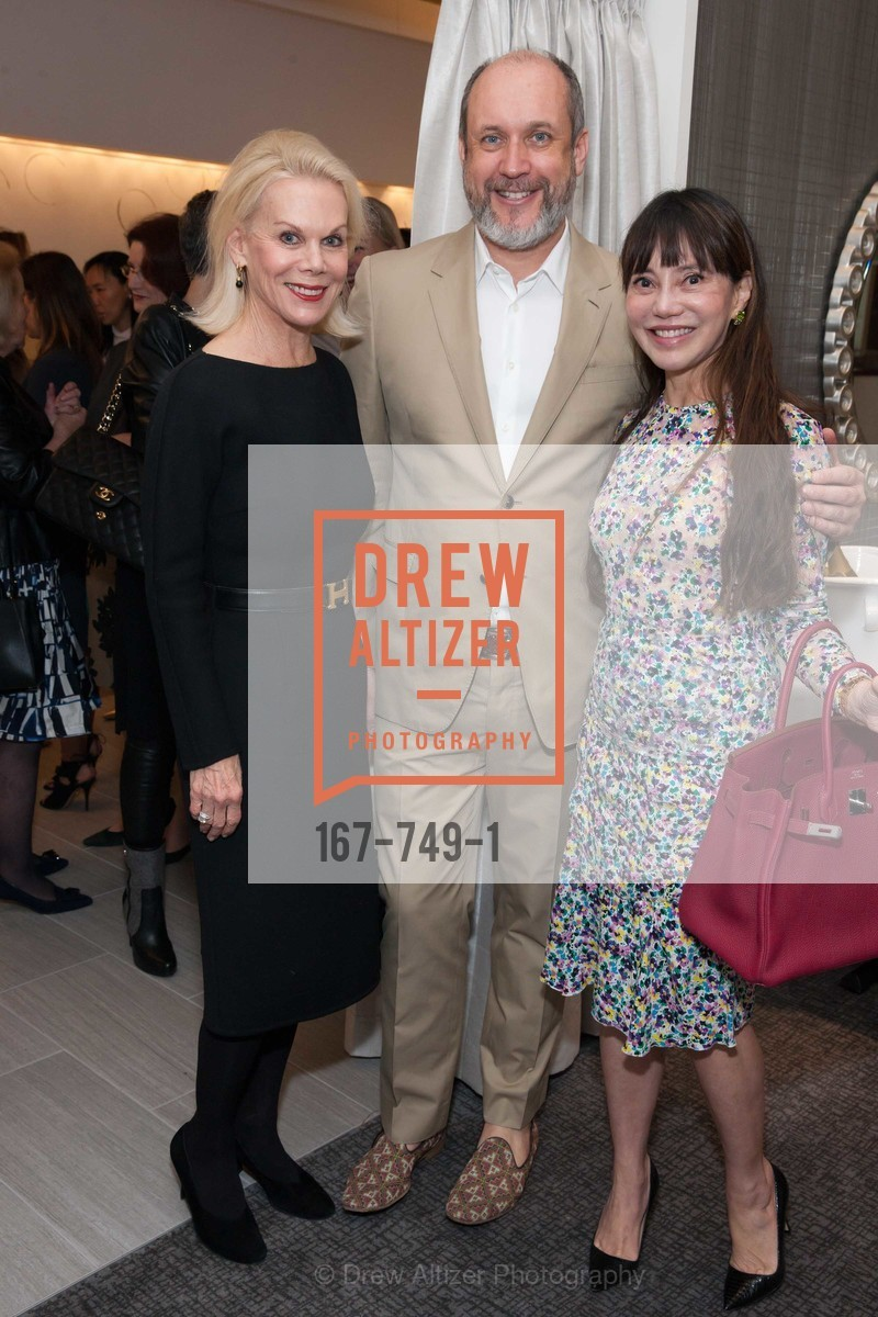 Sandra Farris, Peter Copping, France Szeto, PETER COPPING Meets and Greets OSCAR DELA RENTA Clients and Associates at NEIMAN MARCUS, US, May 23rd, 2015,Drew Altizer, Drew Altizer Photography, full-service agency, private events, San Francisco photographer, photographer california