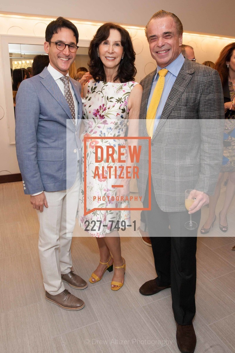 James Krohn, Carolyn Chandler, Boaz Mazor, PETER COPPING Meets and Greets OSCAR DELA RENTA Clients and Associates at NEIMAN MARCUS, US, May 23rd, 2015,Drew Altizer, Drew Altizer Photography, full-service agency, private events, San Francisco photographer, photographer california