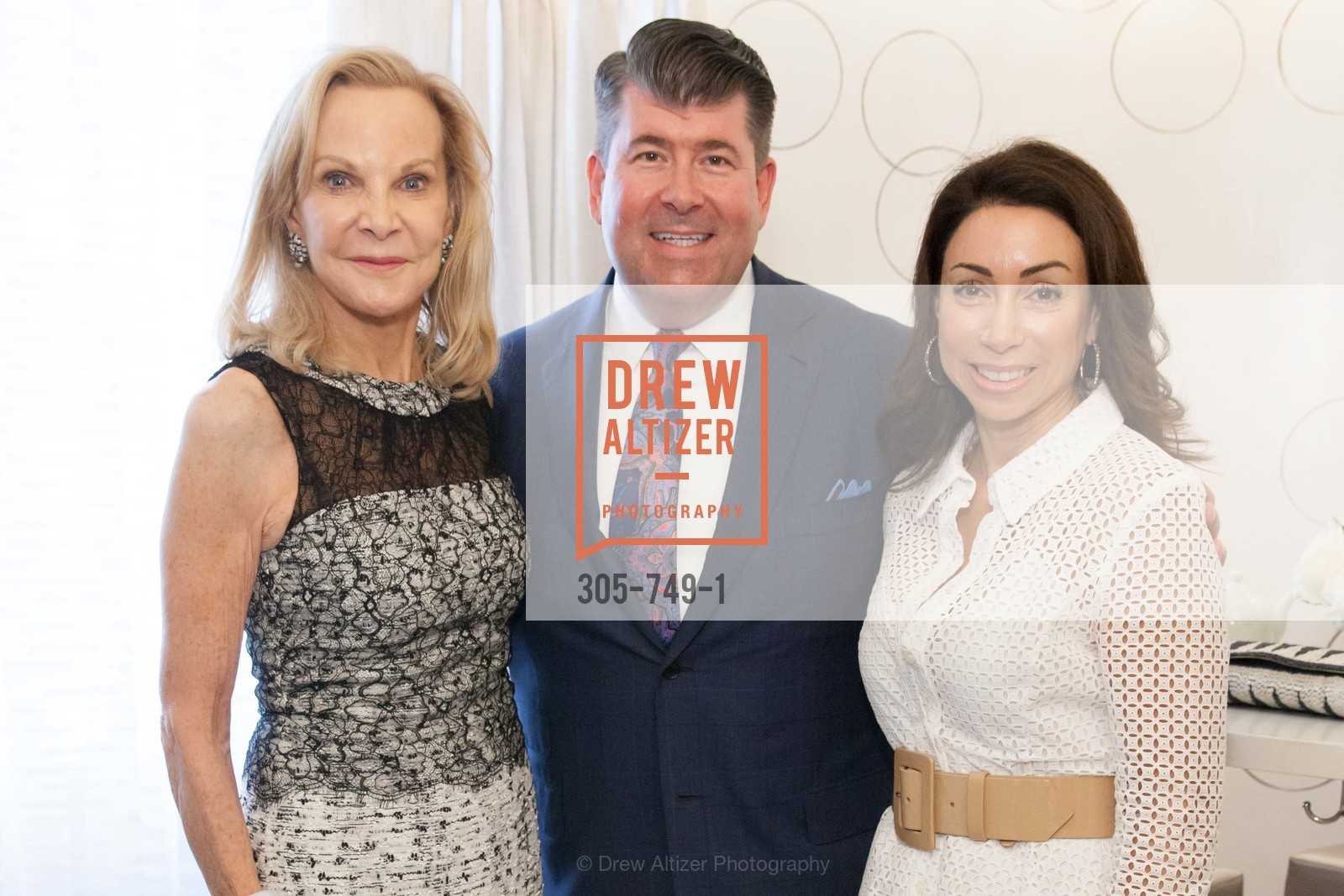 Carole McNeil, Alan Morrell, Gina Peterson, PETER COPPING Meets and Greets OSCAR DELA RENTA Clients and Associates at NEIMAN MARCUS, US, May 22nd, 2015,Drew Altizer, Drew Altizer Photography, full-service agency, private events, San Francisco photographer, photographer california