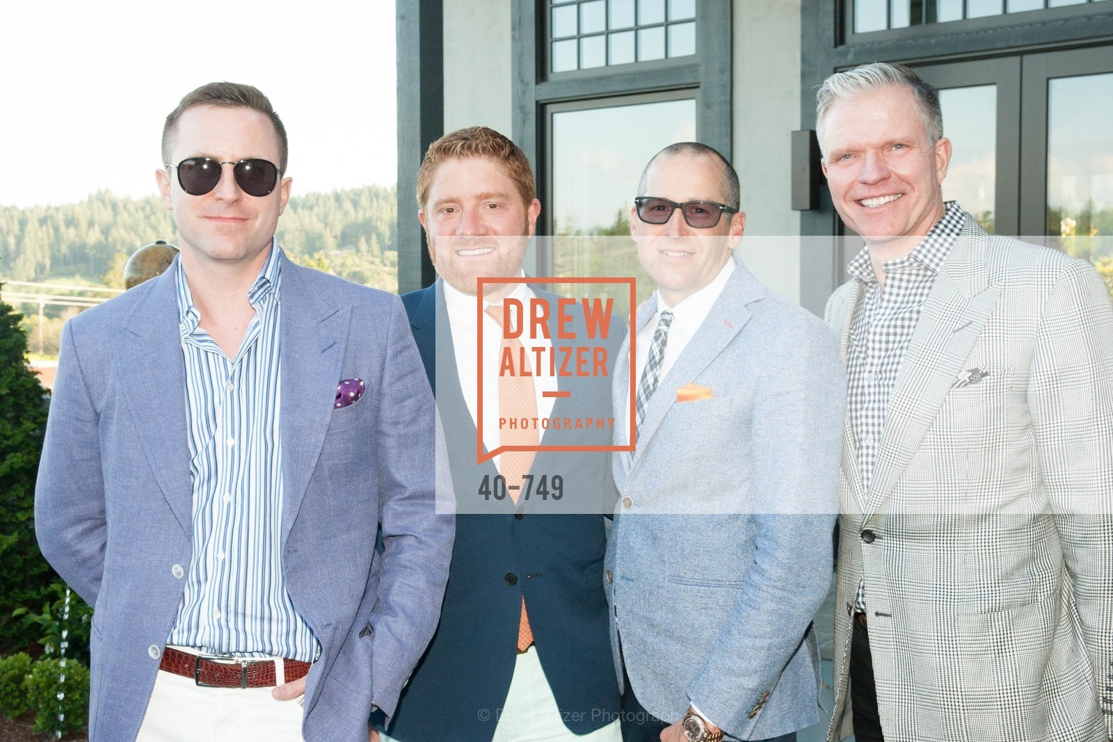 Andrew Hinek, Will Spendlove, Steve Wilson, Keith Wetmore, PETER COPPING Meets and Greets OSCAR DELA RENTA Clients and Associates at NEIMAN MARCUS, US, May 23rd, 2015,Drew Altizer, Drew Altizer Photography, full-service agency, private events, San Francisco photographer, photographer california