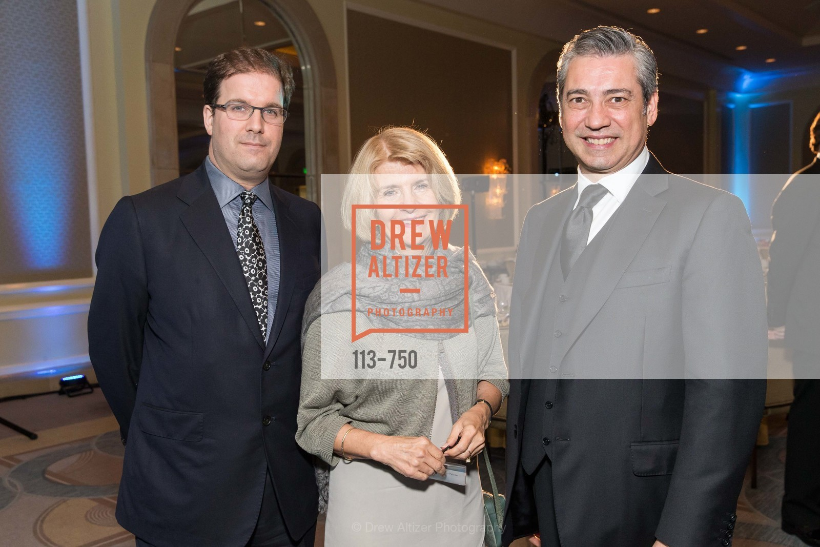 Matias Tarnopolsky, Annette Campbell-White, Nicola Luisotti, WORLD AFFAIRS COUNCIL Awards Dinner, US, May 26th, 2015,Drew Altizer, Drew Altizer Photography, full-service agency, private events, San Francisco photographer, photographer california