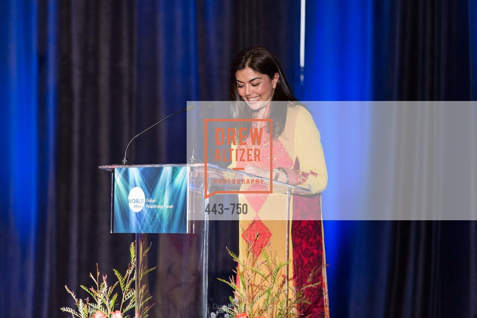 Sara Abbasi, WORLD AFFAIRS COUNCIL Awards Dinner, US, May 27th, 2015,Drew Altizer, Drew Altizer Photography, full-service agency, private events, San Francisco photographer, photographer california