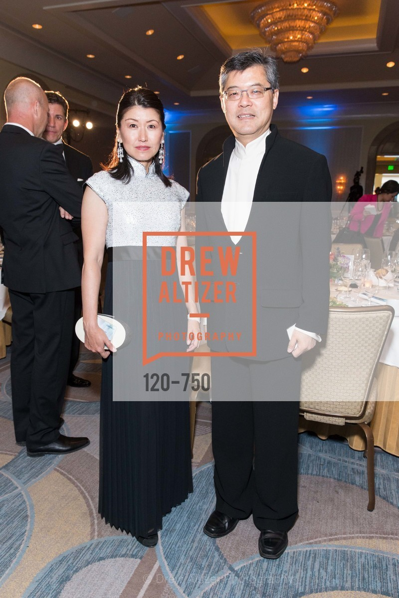 Akiko Yamazaki, Jay Xu, WORLD AFFAIRS COUNCIL Awards Dinner, US, May 26th, 2015,Drew Altizer, Drew Altizer Photography, full-service agency, private events, San Francisco photographer, photographer california