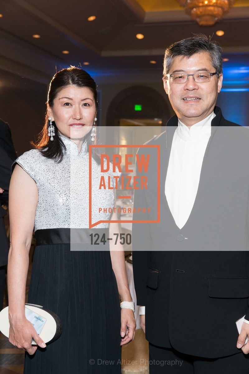 Akiko Yamazaki, Jay Xu, WORLD AFFAIRS COUNCIL Awards Dinner, US, May 27th, 2015,Drew Altizer, Drew Altizer Photography, full-service agency, private events, San Francisco photographer, photographer california