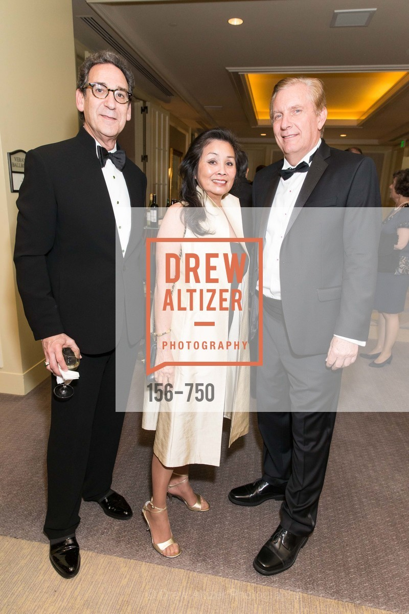 Fred Levin, Margaret Collard, George Norton, WORLD AFFAIRS COUNCIL Awards Dinner, US, May 27th, 2015,Drew Altizer, Drew Altizer Photography, full-service agency, private events, San Francisco photographer, photographer california