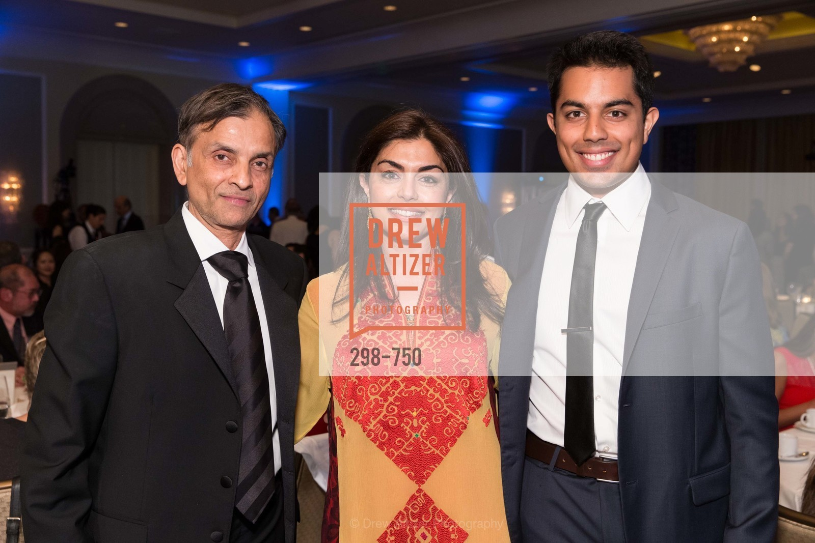 Vivek Ranadive, Sara Abbasi, Faiz Abbasi, WORLD AFFAIRS COUNCIL Awards Dinner, US, May 26th, 2015,Drew Altizer, Drew Altizer Photography, full-service agency, private events, San Francisco photographer, photographer california