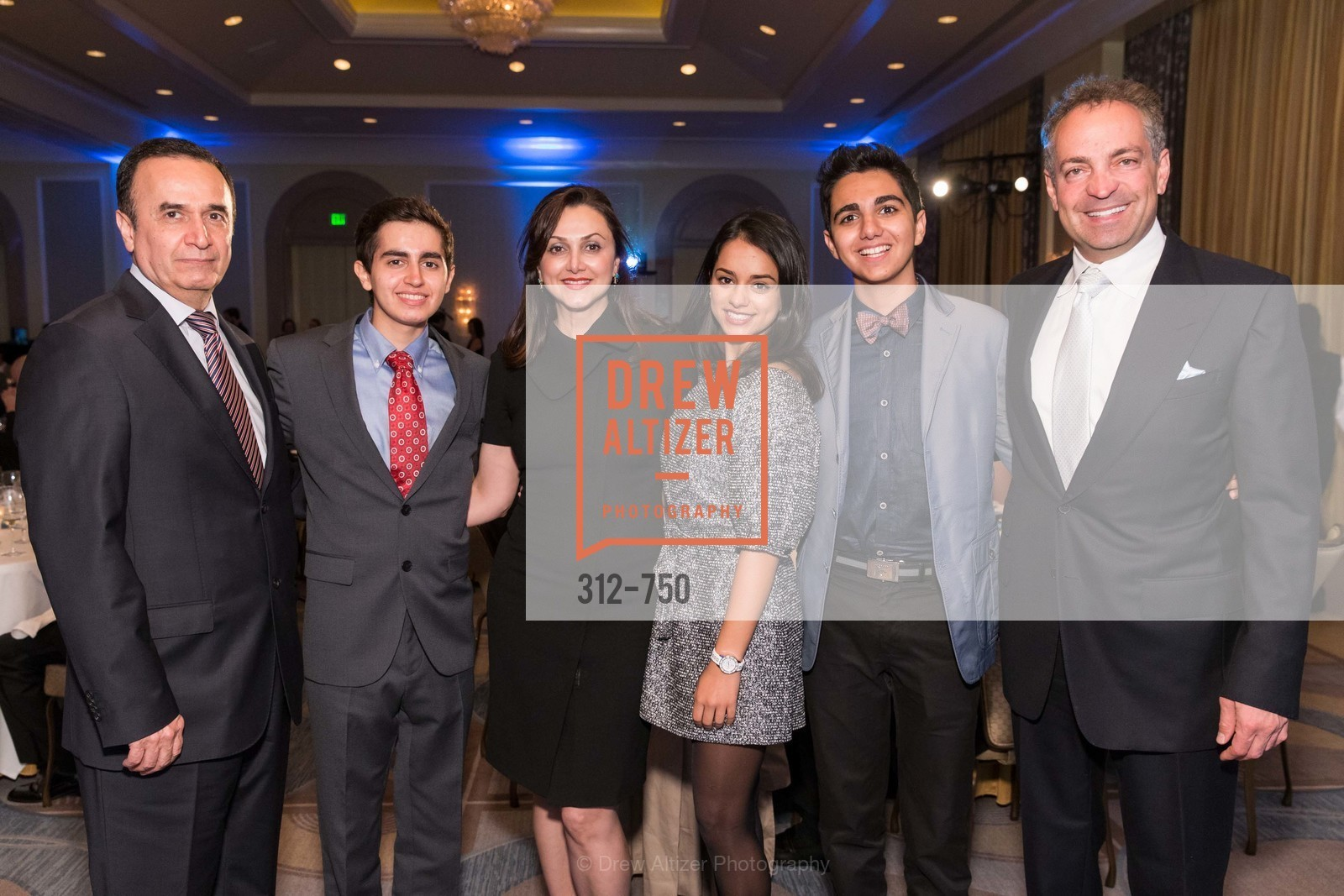 Bahman Daryabari, Ariya Daryabari, Bita Daryabari, Misha Kordestani, Milan Kordestani, Reza Malek, WORLD AFFAIRS COUNCIL Awards Dinner, US, May 27th, 2015,Drew Altizer, Drew Altizer Photography, full-service agency, private events, San Francisco photographer, photographer california