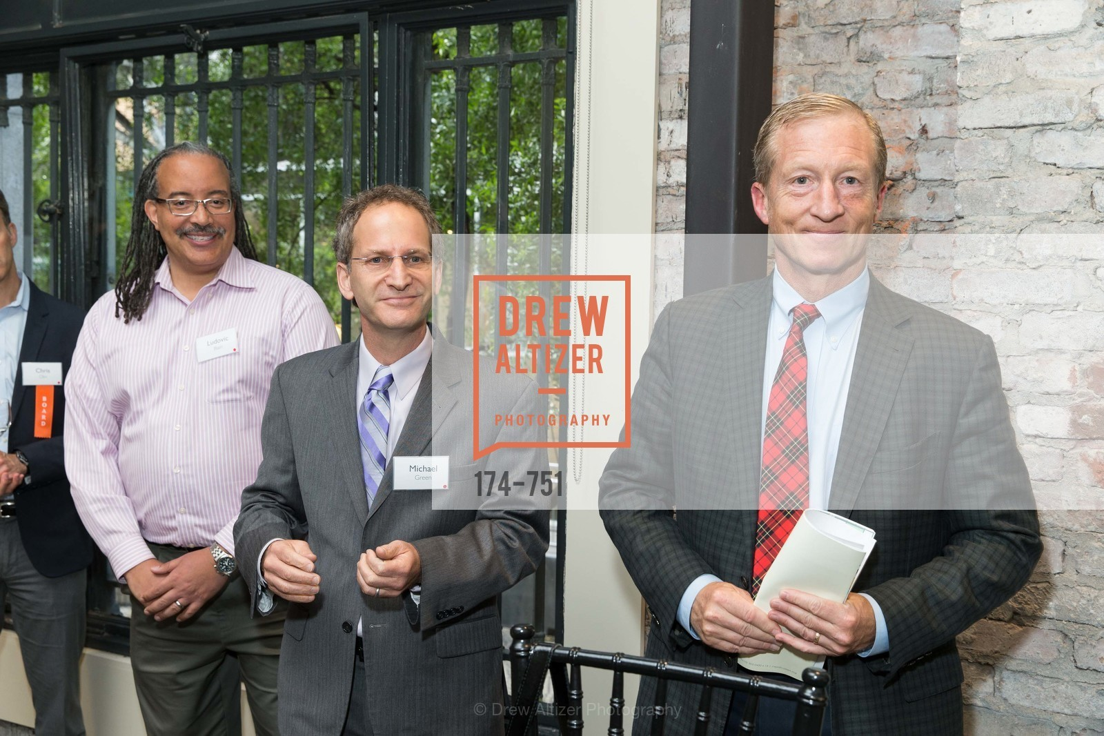 Ludovic Blain, Michael Green, Tom Steyer, CENTER FOR ENVIRONMENTAL HEALTH (CEH) 2015 Gala, US, May 28th, 2015,Drew Altizer, Drew Altizer Photography, full-service agency, private events, San Francisco photographer, photographer california