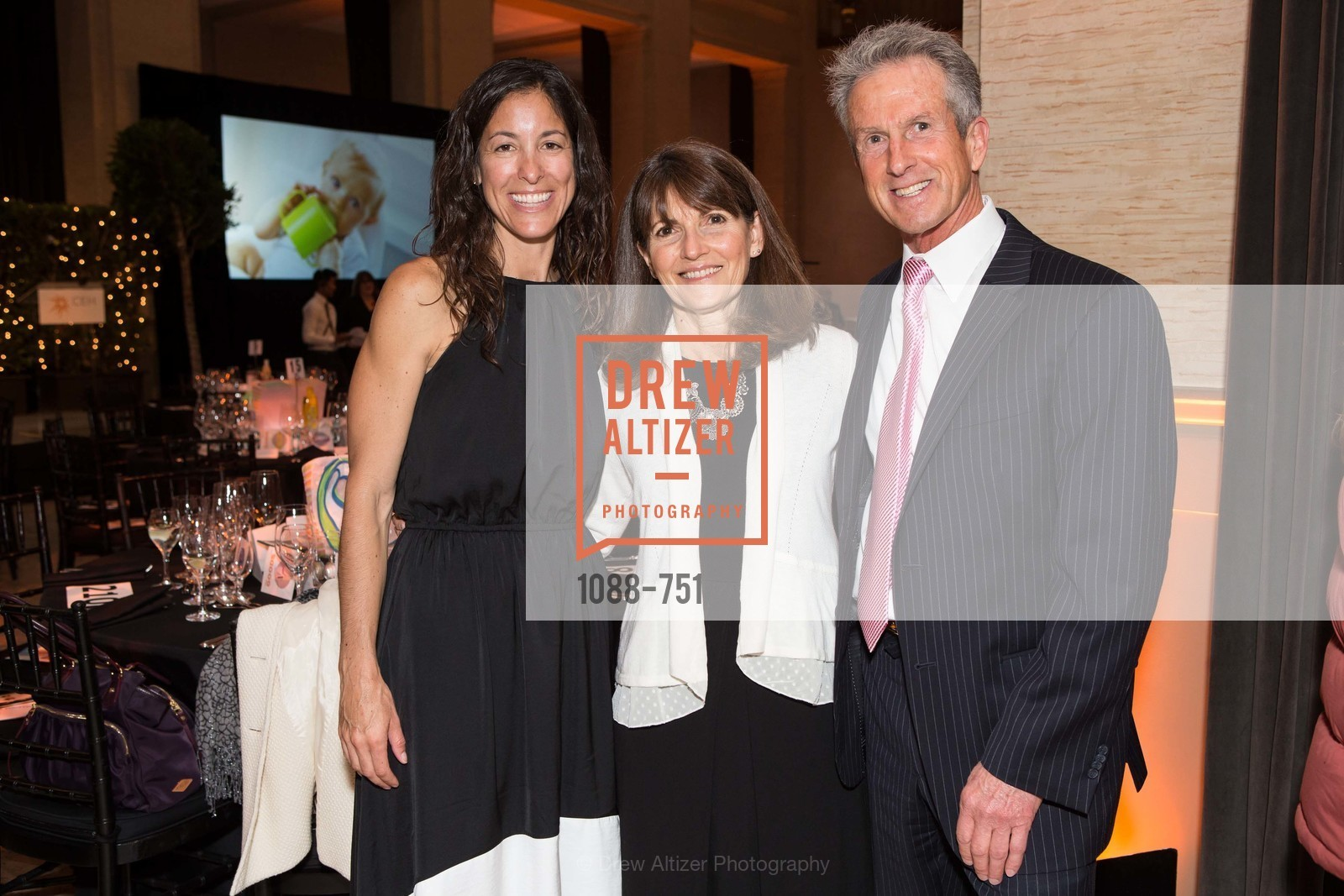 Jennifer Sawle, Diane Stefani, Tony Stefani, CENTER FOR ENVIRONMENTAL HEALTH (CEH) 2015 Gala, Bently Reserve, May 28th, 2015,Drew Altizer, Drew Altizer Photography, full-service agency, private events, San Francisco photographer, photographer california