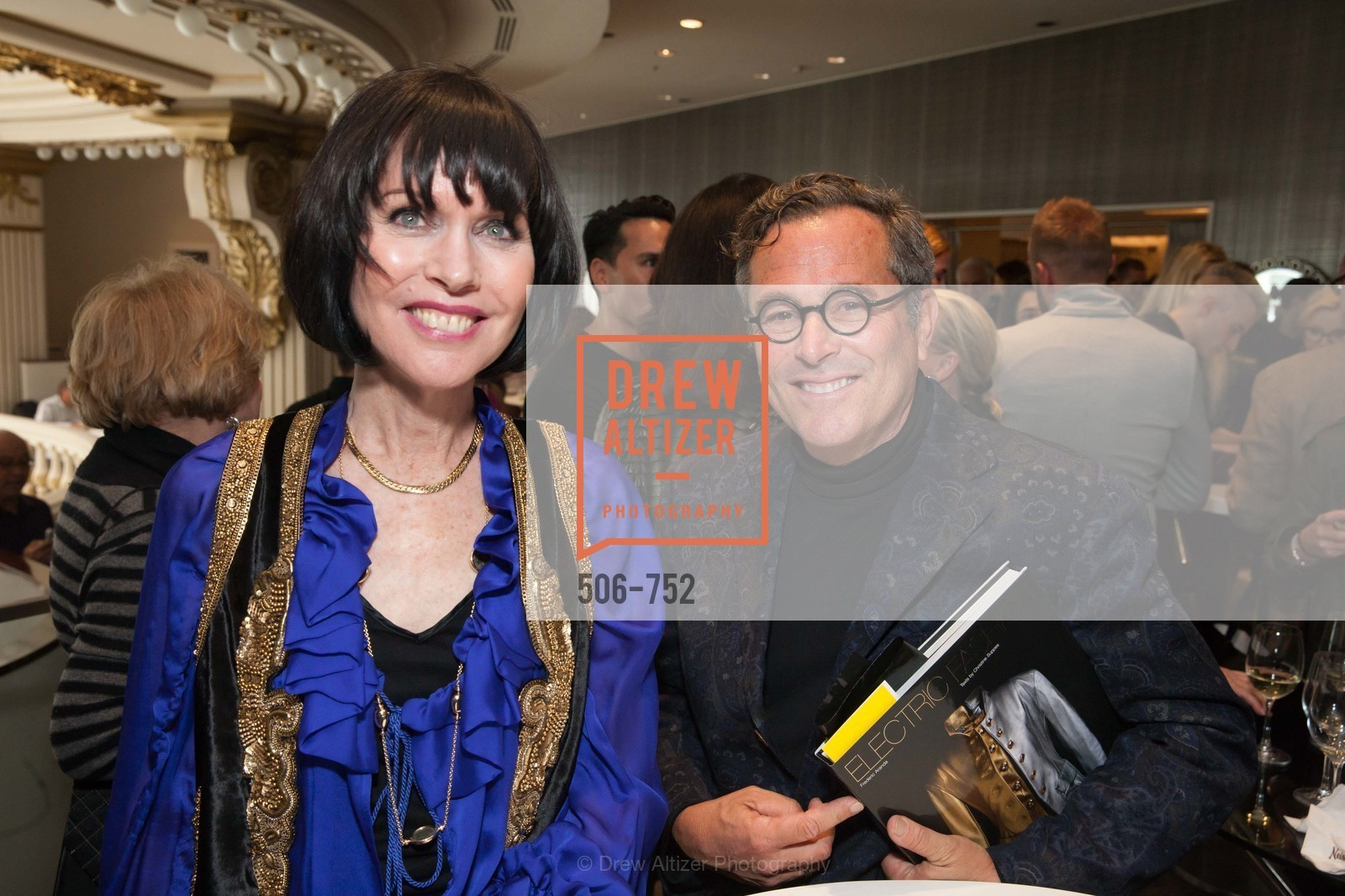 Christine Suppes, Ricky Serbin, Electric Fashion Book Signing with Christine Suppes & Ken Downing at THE ROTUNDA, NEIMAN MARCUS, US, May 27th, 2015,Drew Altizer, Drew Altizer Photography, full-service agency, private events, San Francisco photographer, photographer california