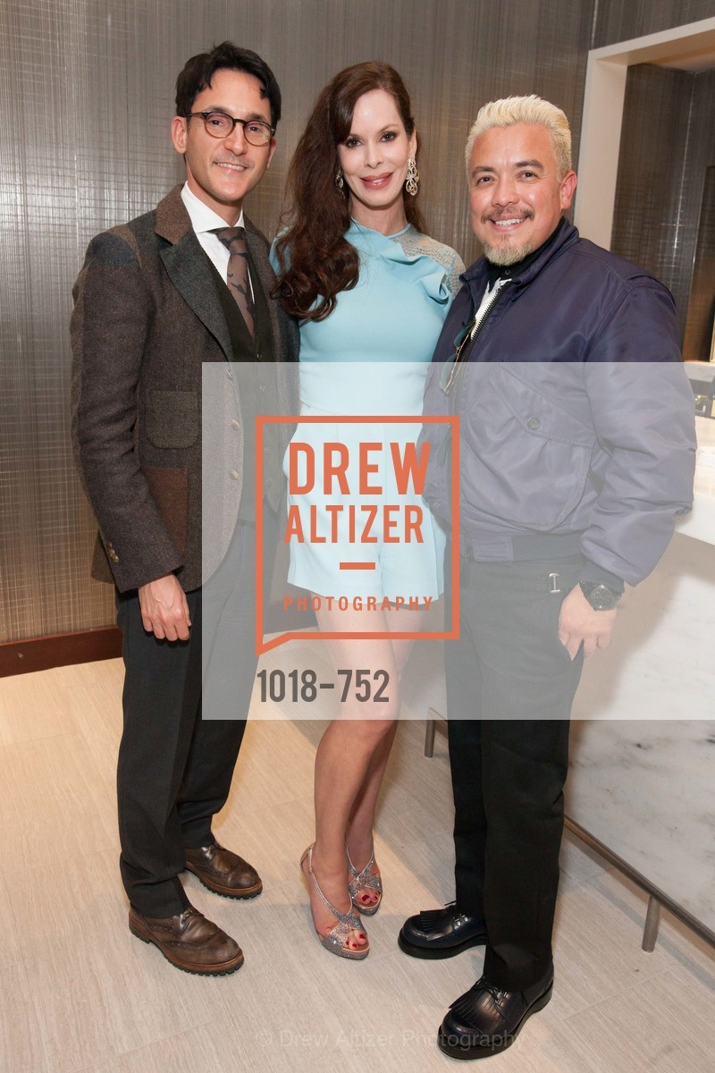 James Krohn, Stephanie Marver, Victor Vargas, Electric Fashion Book Signing with Christine Suppes & Ken Downing at THE ROTUNDA, NEIMAN MARCUS, US, May 27th, 2015,Drew Altizer, Drew Altizer Photography, full-service agency, private events, San Francisco photographer, photographer california