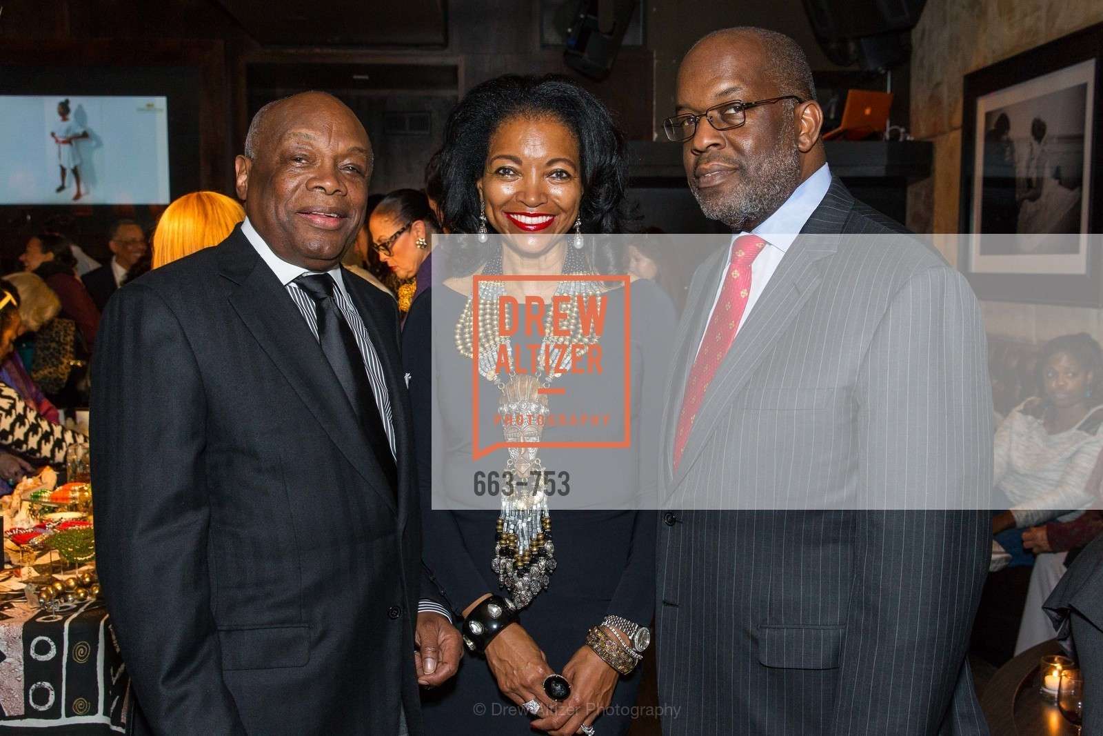 Willie Brown, Denise Bradley Tyson, Bernard Tyson, INSPIRED LUXE Launch Party Hosted by Denise Bradley Tyson, US, Matrix Fillmore, May 28th, 2015,Drew Altizer, Drew Altizer Photography, full-service agency, private events, San Francisco photographer, photographer california