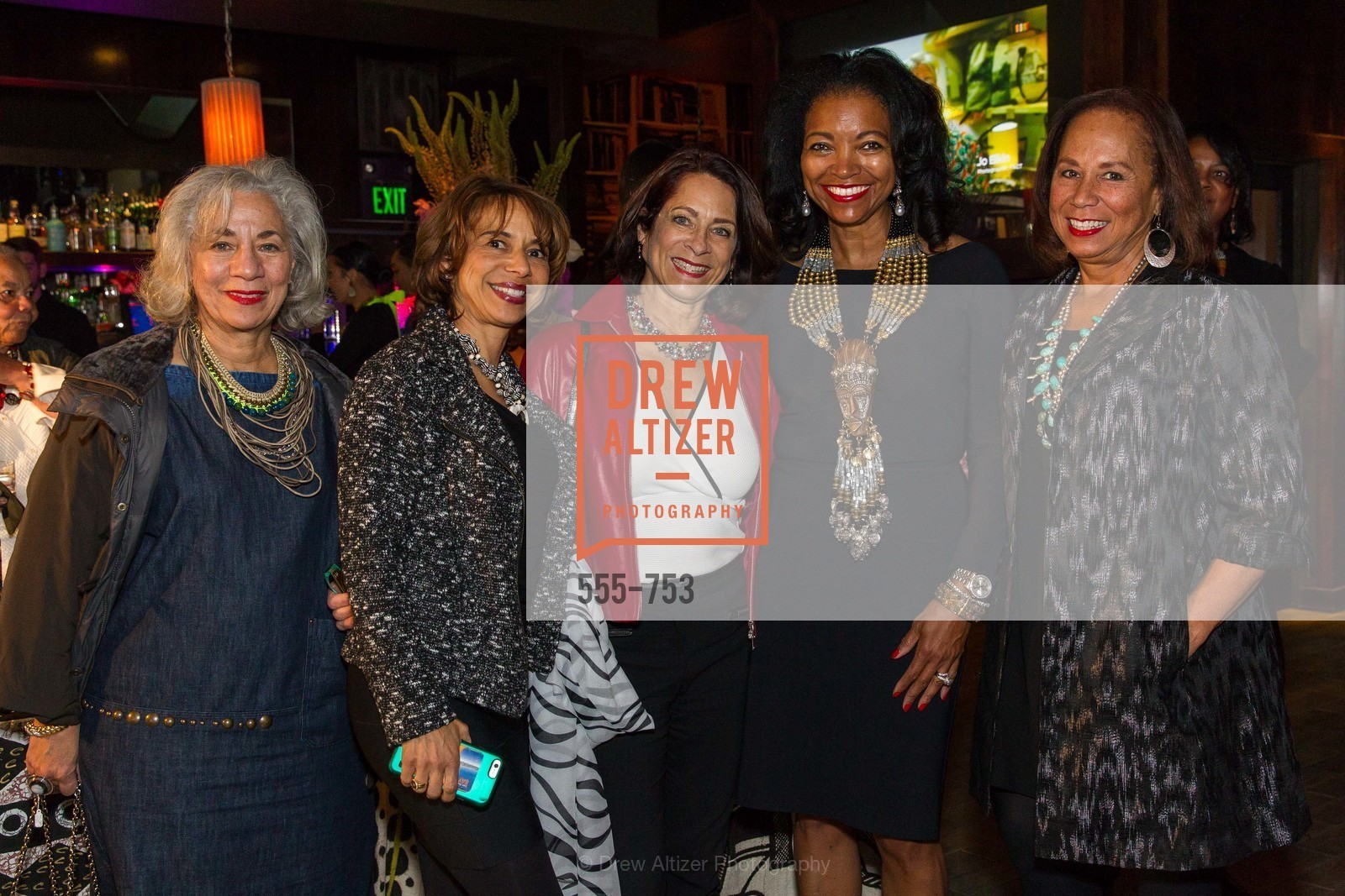 Peggy Forbes, Carla Foster, Sylvia Mestayer-Collins, Denise Bradley Tyson, Schyleen Qualls, INSPIRED LUXE Launch Party Hosted by Denise Bradley Tyson, US, Matrix Fillmore, May 28th, 2015,Drew Altizer, Drew Altizer Photography, full-service agency, private events, San Francisco photographer, photographer california