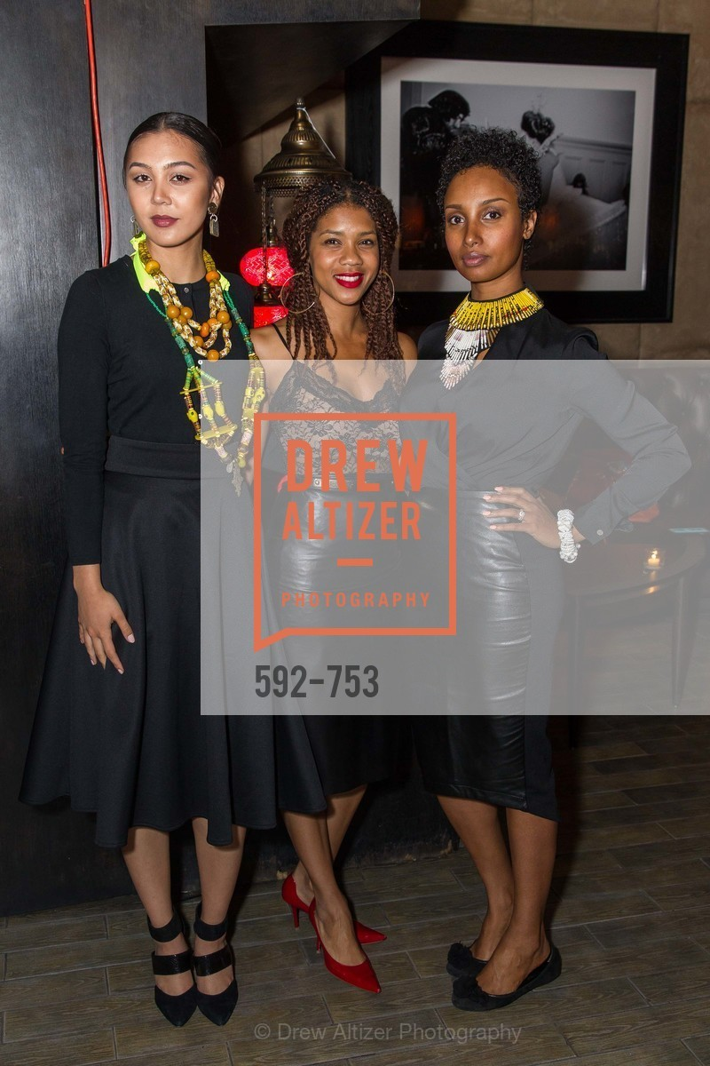 Natalie Reclosado, Alanna Rayford, Senait Mengstab, INSPIRED LUXE Launch Party Hosted by Denise Bradley Tyson, US, Matrix Fillmore, May 28th, 2015,Drew Altizer, Drew Altizer Photography, full-service agency, private events, San Francisco photographer, photographer california