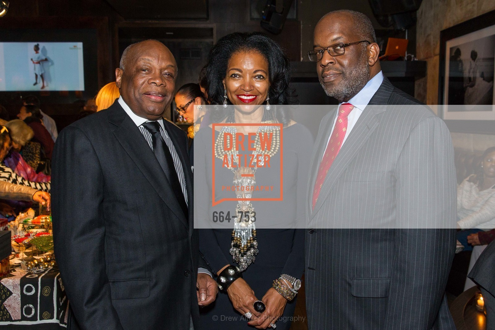 Willie Brown, Denise Bradley Tyson, Bernard Tyson, INSPIRED LUXE Launch Party Hosted by Denise Bradley Tyson, US, May 28th, 2015,Drew Altizer, Drew Altizer Photography, full-service agency, private events, San Francisco photographer, photographer california