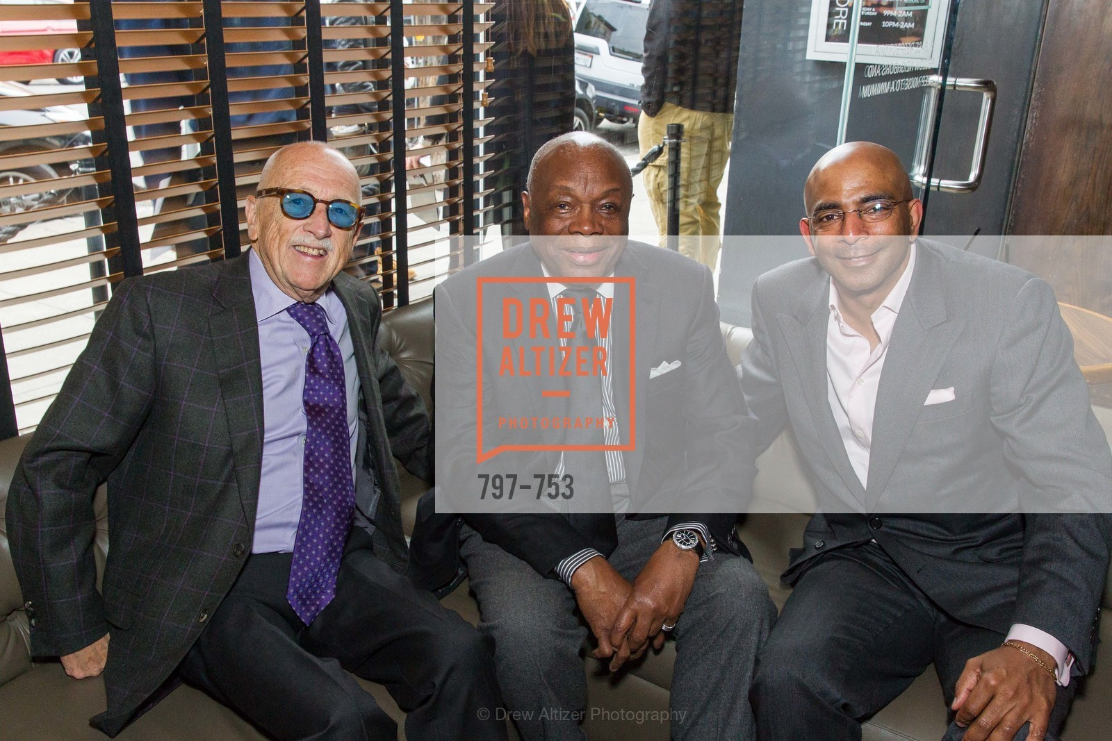 Wilkes Bashford, Willie Brown, Steve Bowdry, INSPIRED LUXE Launch Party Hosted by Denise Bradley Tyson, US, May 28th, 2015,Drew Altizer, Drew Altizer Photography, full-service agency, private events, San Francisco photographer, photographer california