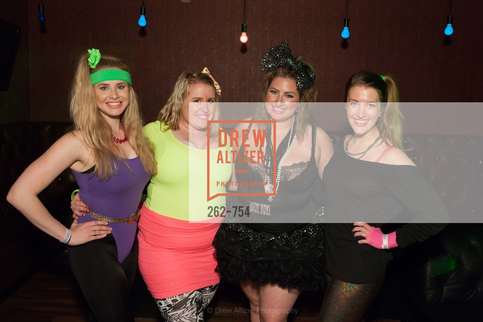 Elizabeth Sgarrella, Eryn Golden, Annie Benisch, Michelle Bertino, SPINSTERS OF SAN FRANCISCO Party Like It's 1985 Charity Party, US, Fort One Bar & Lounge. 2801 Leavenworth St, May 30th, 2015,Drew Altizer, Drew Altizer Photography, full-service agency, private events, San Francisco photographer, photographer california