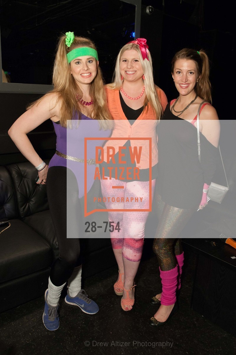Elizabeth Sgarrella, Summer McCormick, Julia Allyn, SPINSTERS OF SAN FRANCISCO Party Like It's 1985 Charity Party, US, May 29th, 2015,Drew Altizer, Drew Altizer Photography, full-service agency, private events, San Francisco photographer, photographer california