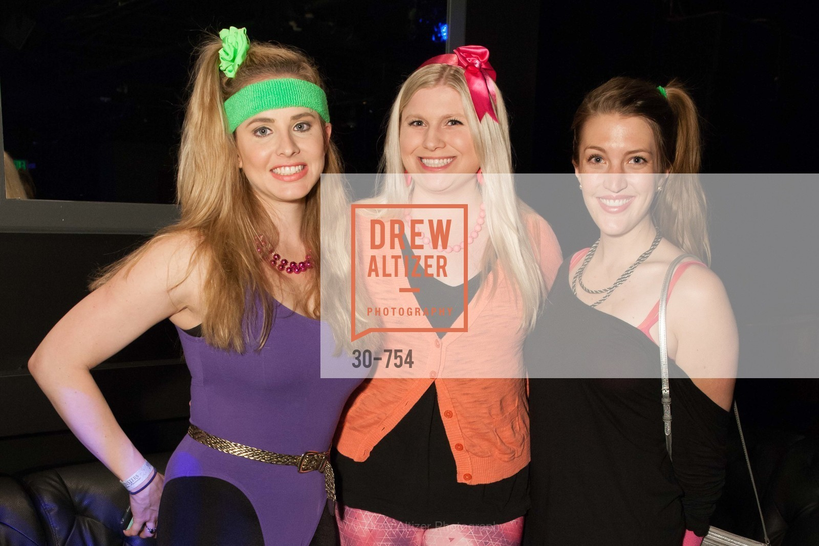 Elizabeth Sgarrella, Summer McCormick, Julia Allyn, SPINSTERS OF SAN FRANCISCO Party Like It's 1985 Charity Party, US, Fort One Bar & Lounge. 2801 Leavenworth St, May 30th, 2015,Drew Altizer, Drew Altizer Photography, full-service agency, private events, San Francisco photographer, photographer california
