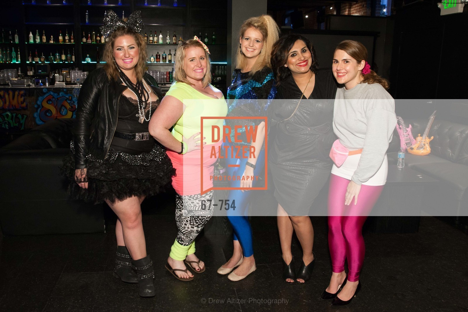 Annie Benisch, Eryn Golden, Laura Moir, Teesta Kaur, Cailin Todd, SPINSTERS OF SAN FRANCISCO Party Like It's 1985 Charity Party, US, May 29th, 2015,Drew Altizer, Drew Altizer Photography, full-service agency, private events, San Francisco photographer, photographer california