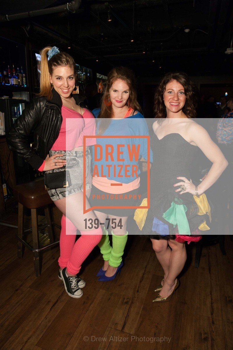 Alyssa Nordstrom, Jamie Taylor, Kate Miller, SPINSTERS OF SAN FRANCISCO Party Like It's 1985 Charity Party, US, Fort One Bar & Lounge. 2801 Leavenworth St, May 30th, 2015,Drew Altizer, Drew Altizer Photography, full-service agency, private events, San Francisco photographer, photographer california