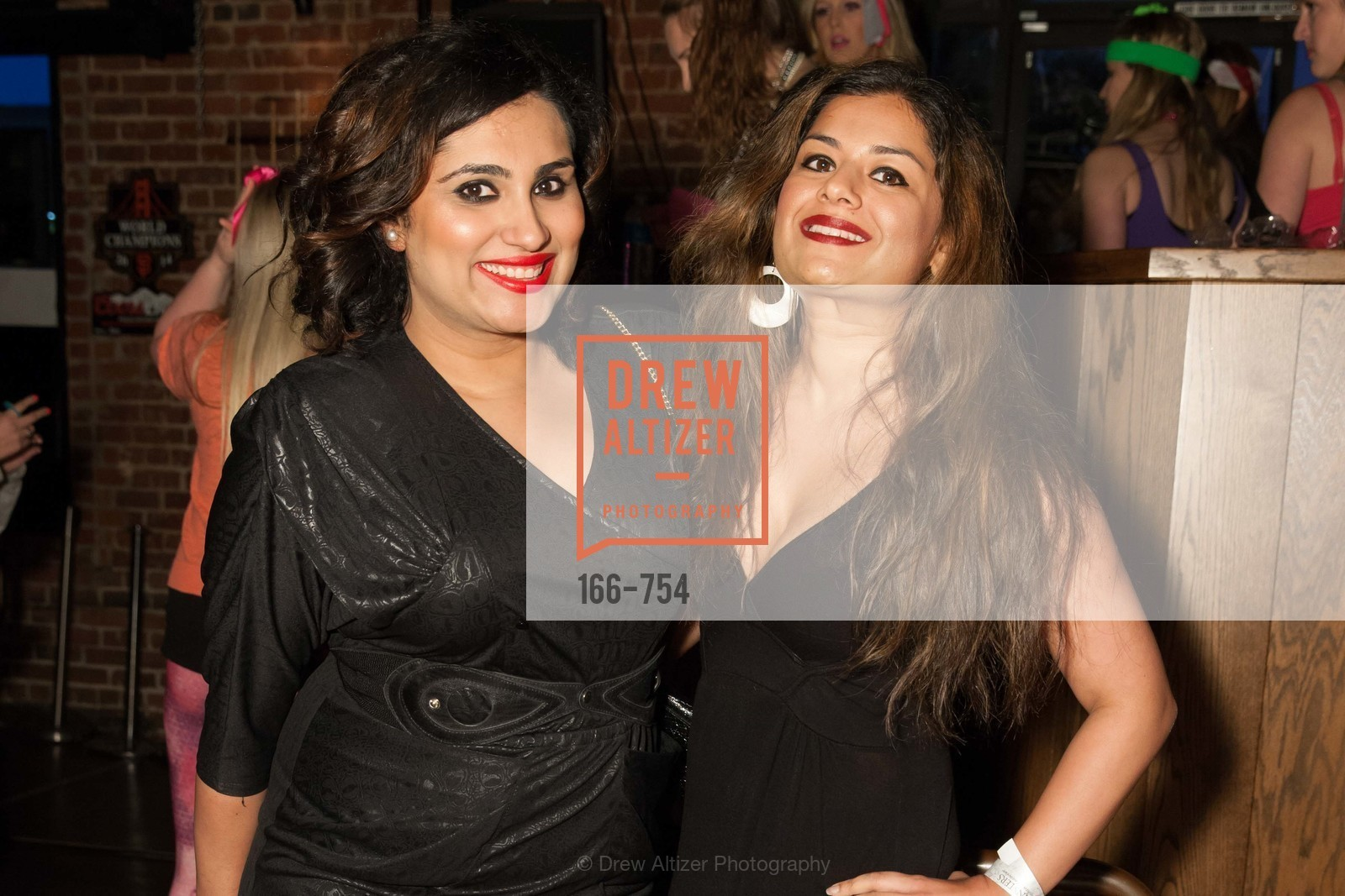 Teesta Kaur, Priya Saiprasad, SPINSTERS OF SAN FRANCISCO Party Like It's 1985 Charity Party, US, Fort One Bar & Lounge. 2801 Leavenworth St, May 30th, 2015,Drew Altizer, Drew Altizer Photography, full-service agency, private events, San Francisco photographer, photographer california