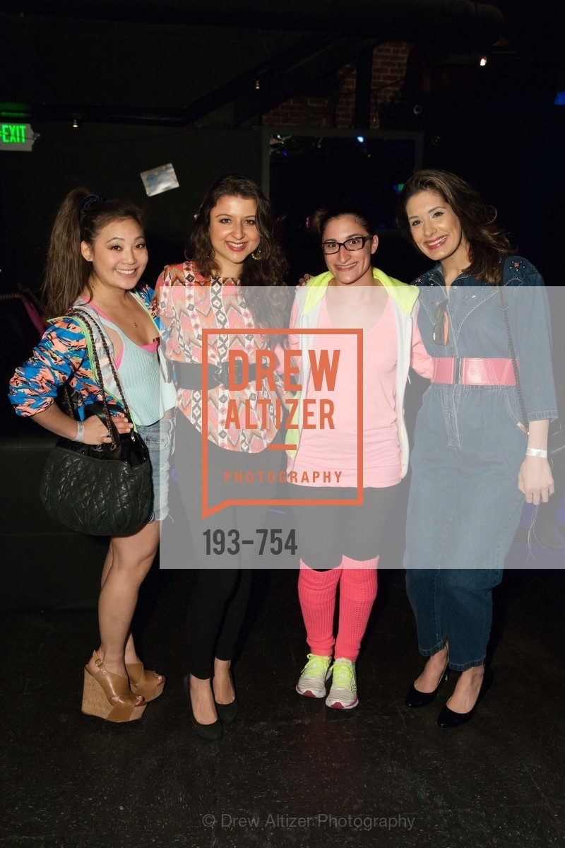 Kelsey Lee, Marissa Corona, Anne Warda, Zarina Kahn, SPINSTERS OF SAN FRANCISCO Party Like It's 1985 Charity Party, US, Fort One Bar & Lounge. 2801 Leavenworth St, May 30th, 2015,Drew Altizer, Drew Altizer Photography, full-service agency, private events, San Francisco photographer, photographer california