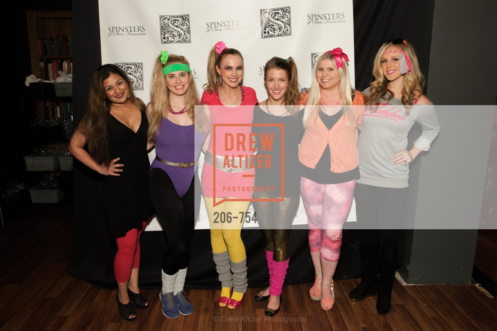 Priya Saiprasad, Elizabeth Sgarrella, Michelle Bertino, Julia Allyn, Summer McCormick, Cambria Steel, SPINSTERS OF SAN FRANCISCO Party Like It's 1985 Charity Party, US, May 29th, 2015,Drew Altizer, Drew Altizer Photography, full-service agency, private events, San Francisco photographer, photographer california