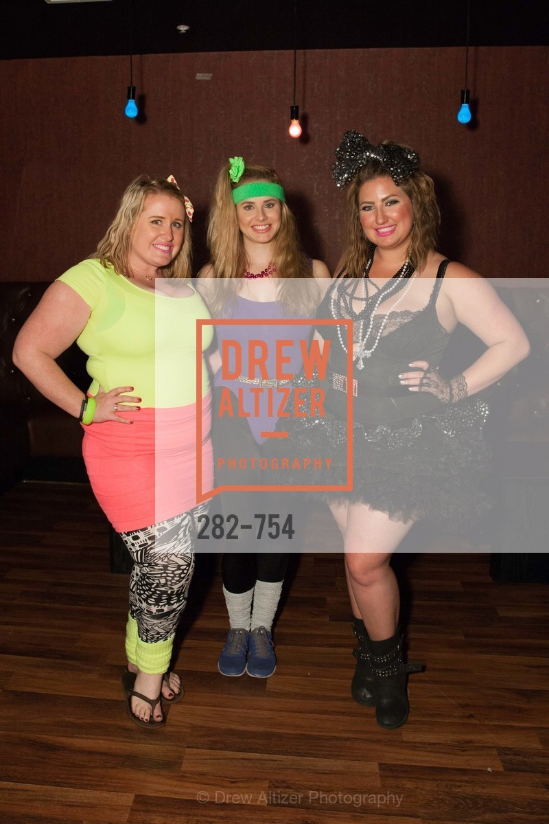 Eryn Golden, Elizabeth Sgarrella, Annice Benisch, SPINSTERS OF SAN FRANCISCO Party Like It's 1985 Charity Party, US, Fort One Bar & Lounge. 2801 Leavenworth St, May 30th, 2015,Drew Altizer, Drew Altizer Photography, full-service agency, private events, San Francisco photographer, photographer california