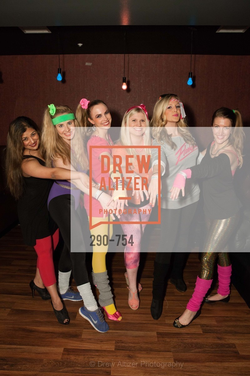Priya Saiprasad, Elizabeth Sgarrella, Michelle Bertino, Summer McCormick, Cambria Steel, Julia Allyn, SPINSTERS OF SAN FRANCISCO Party Like It's 1985 Charity Party, US, Fort One Bar & Lounge. 2801 Leavenworth St, May 30th, 2015,Drew Altizer, Drew Altizer Photography, full-service agency, private events, San Francisco photographer, photographer california