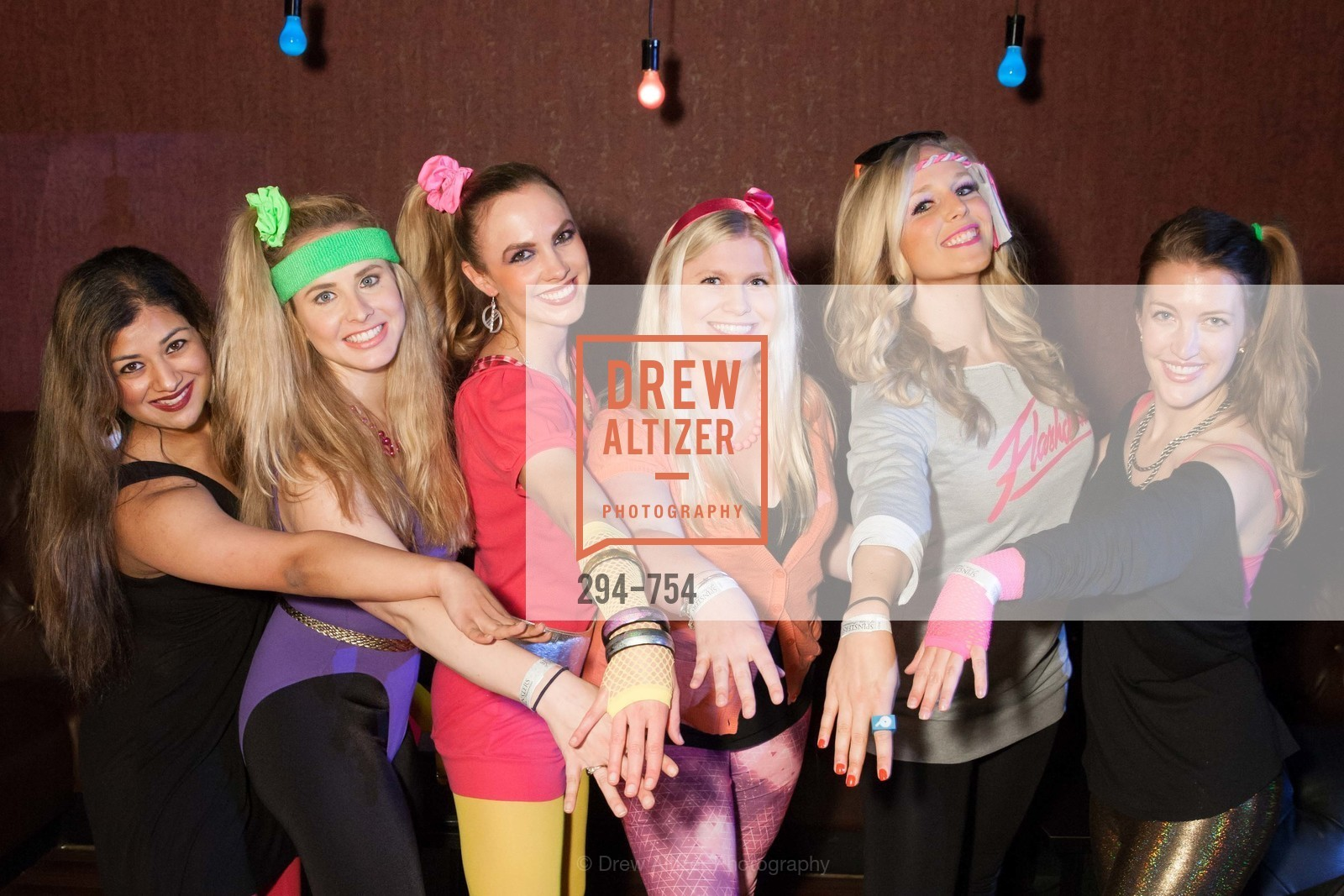 Priya Saiprasad, Elizabeth Sgarrella, Michelle Bertino, Summer McCormick, Cambria Steel, Julia Allyn, SPINSTERS OF SAN FRANCISCO Party Like It's 1985 Charity Party, US, May 29th, 2015,Drew Altizer, Drew Altizer Photography, full-service agency, private events, San Francisco photographer, photographer california