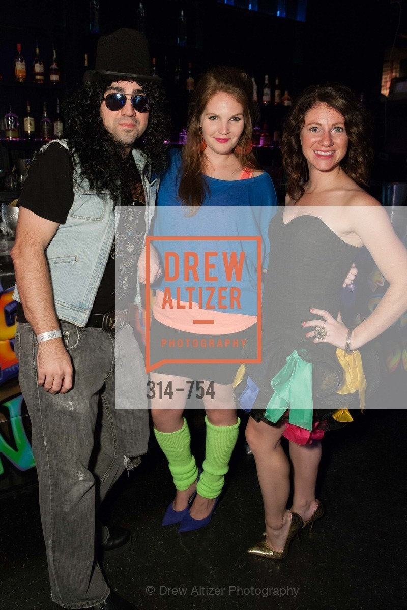 Joe Posaky, Jamie Taylor, Kate Miller, SPINSTERS OF SAN FRANCISCO Party Like It's 1985 Charity Party, US, Fort One Bar & Lounge. 2801 Leavenworth St, May 30th, 2015,Drew Altizer, Drew Altizer Photography, full-service agency, private events, San Francisco photographer, photographer california
