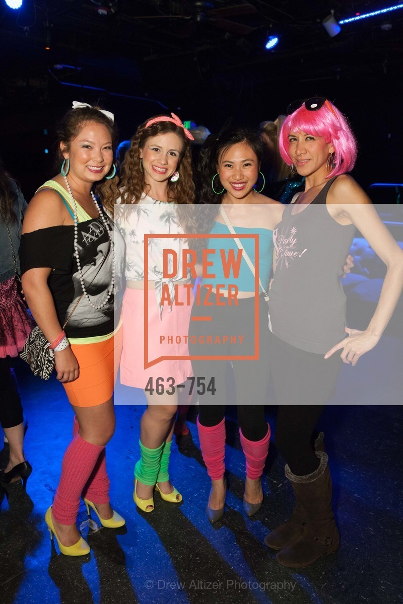 Katherine Sakoda, Christy Simon, Yinyin Aung, Julianna Ipuiz, SPINSTERS OF SAN FRANCISCO Party Like It's 1985 Charity Party, US, Fort One Bar & Lounge. 2801 Leavenworth St, May 30th, 2015,Drew Altizer, Drew Altizer Photography, full-service agency, private events, San Francisco photographer, photographer california