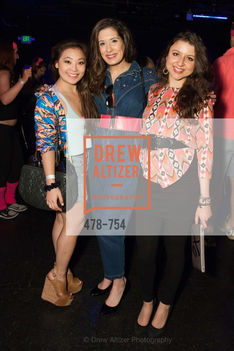 Kelsey Lee, Zarina Kahn, Marissa Corona, SPINSTERS OF SAN FRANCISCO Party Like It's 1985 Charity Party, US, Fort One Bar & Lounge. 2801 Leavenworth St, May 30th, 2015,Drew Altizer, Drew Altizer Photography, full-service agency, private events, San Francisco photographer, photographer california
