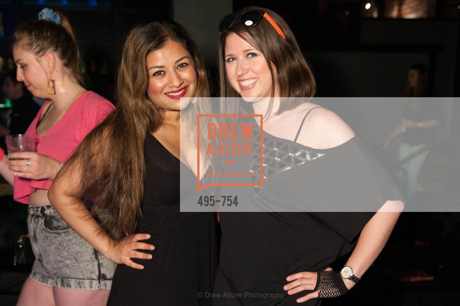 Priya Saiprasad, Libby Hall, SPINSTERS OF SAN FRANCISCO Party Like It's 1985 Charity Party, US, Fort One Bar & Lounge. 2801 Leavenworth St, May 30th, 2015,Drew Altizer, Drew Altizer Photography, full-service agency, private events, San Francisco photographer, photographer california