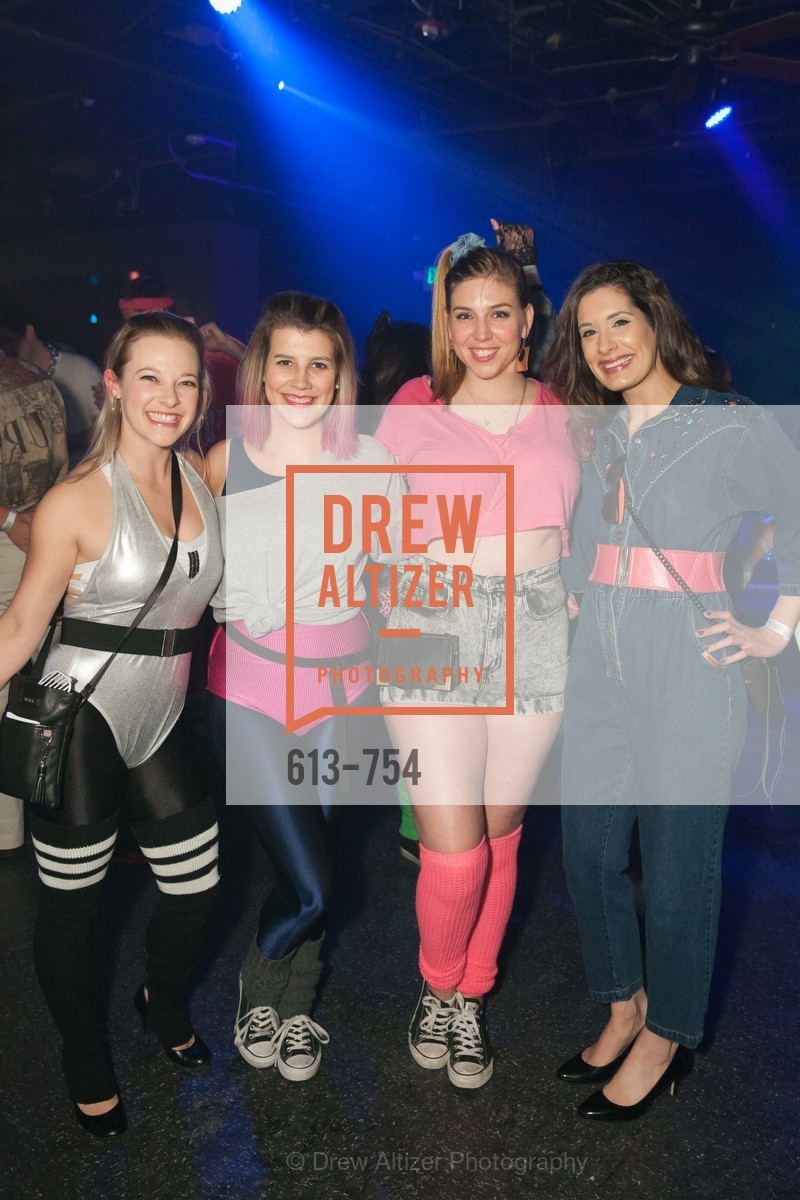 Natalie Perry, Janet LeFevre, Alyssa Nordstrom, Zarina Kahn, SPINSTERS OF SAN FRANCISCO Party Like It's 1985 Charity Party, US, Fort One Bar & Lounge. 2801 Leavenworth St, May 30th, 2015,Drew Altizer, Drew Altizer Photography, full-service agency, private events, San Francisco photographer, photographer california