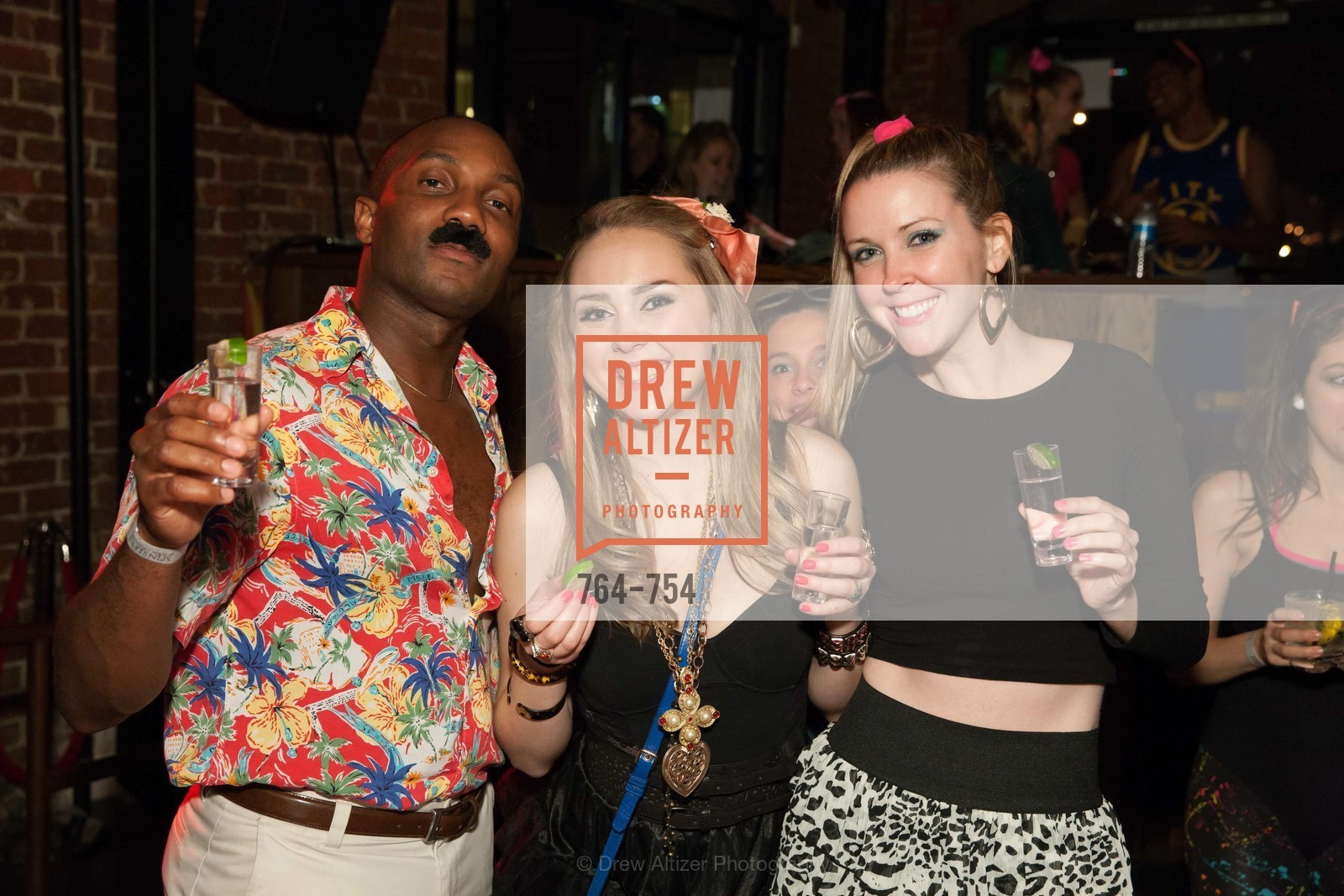 Robert Thompson, Shannon Maher, Molly Sheridan, SPINSTERS OF SAN FRANCISCO Party Like It's 1985 Charity Party, US, Fort One Bar & Lounge. 2801 Leavenworth St, May 30th, 2015,Drew Altizer, Drew Altizer Photography, full-service agency, private events, San Francisco photographer, photographer california