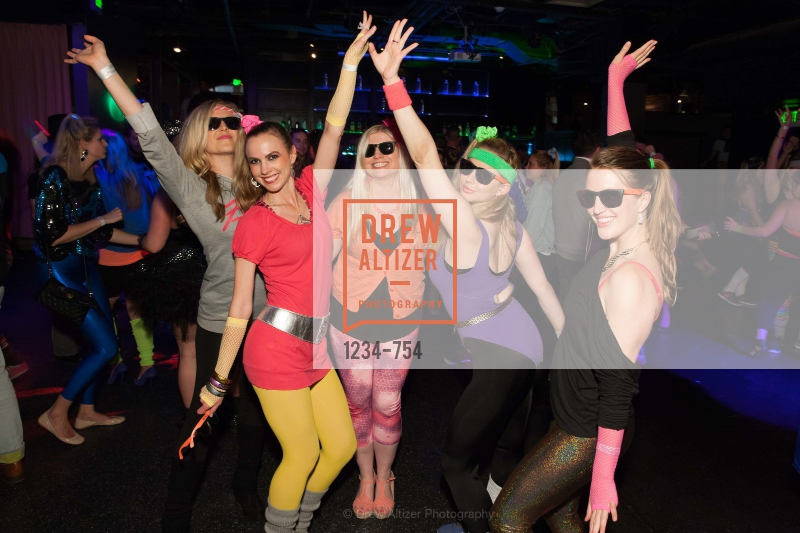 Cambria Steel, Michelle Bertino, Summer McCormick, Elizabeth Sgarrella, SPINSTERS OF SAN FRANCISCO Party Like It's 1985 Charity Party, US, May 29th, 2015,Drew Altizer, Drew Altizer Photography, full-service agency, private events, San Francisco photographer, photographer california