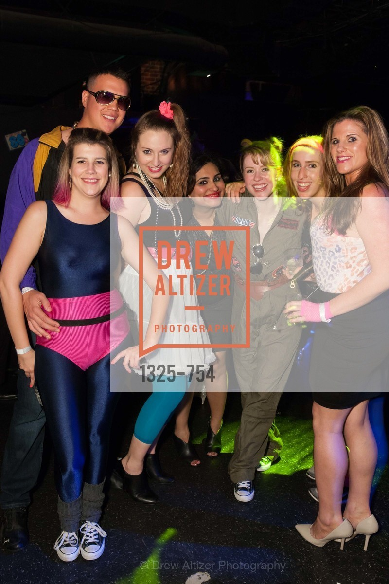 Janet LeFevre, Teesta Kaur, Margaret Hatch, Hilary McGuinness, SPINSTERS OF SAN FRANCISCO Party Like It's 1985 Charity Party, US, May 29th, 2015,Drew Altizer, Drew Altizer Photography, full-service agency, private events, San Francisco photographer, photographer california
