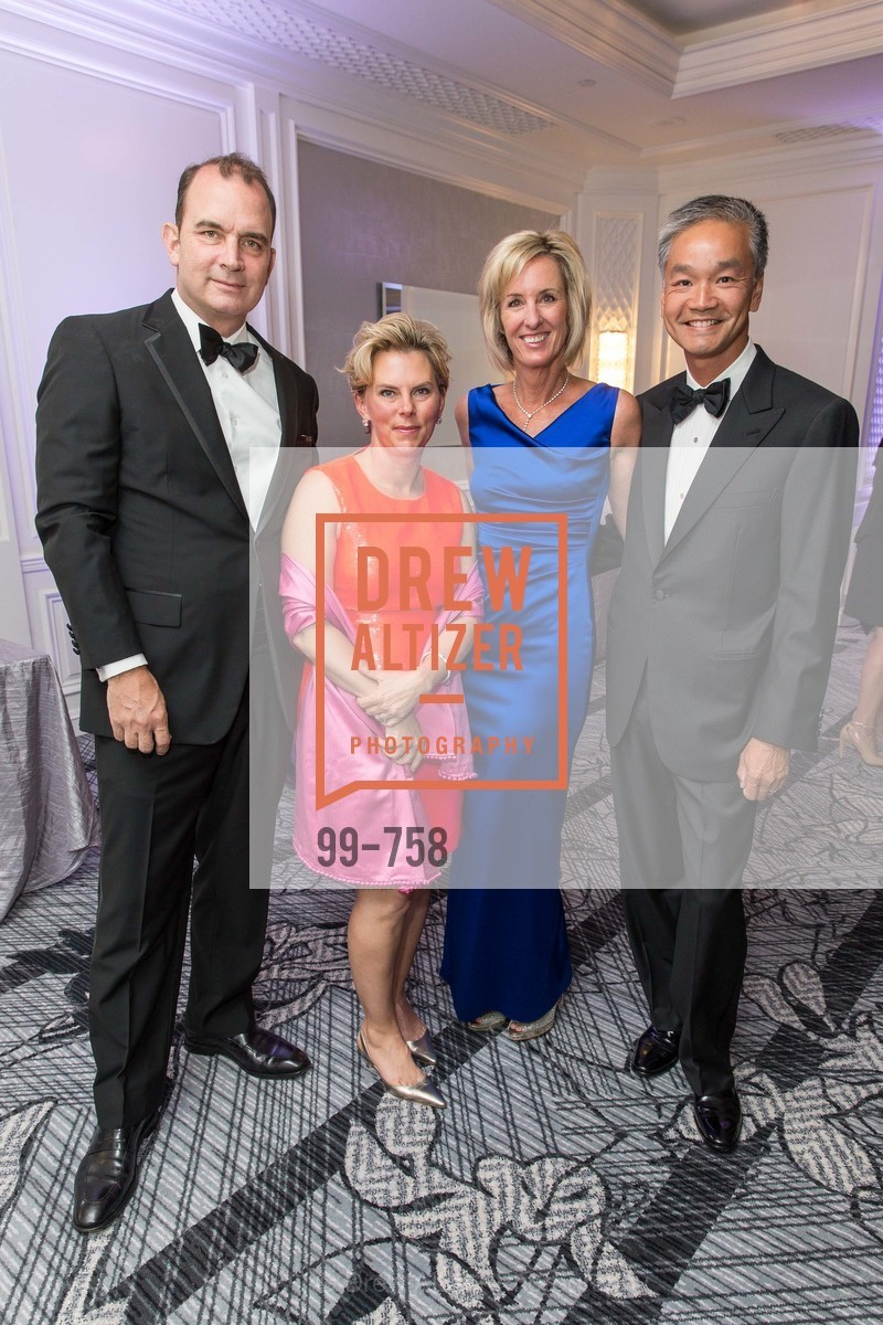 John Shrewberry, Ereca Miller, Gayda Chi, Charles Chi, JUVENILE DIABETES RESEARCH FOUNDATION  Hope Gala, US, May 30th, 2015