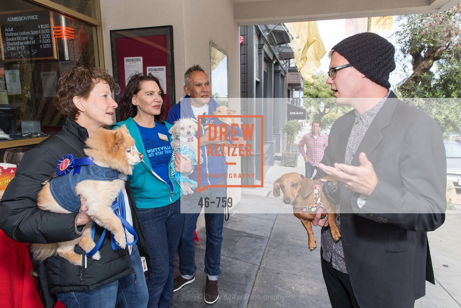 Patty Stanton, Sherri Franklin, Noelson Bloncourt, Austin Anderson, WEINER DOG, The Movie, Screening, The Vogue Theater. 3290 Sacramento St, June 1st, 2015,Drew Altizer, Drew Altizer Photography, full-service agency, private events, San Francisco photographer, photographer california