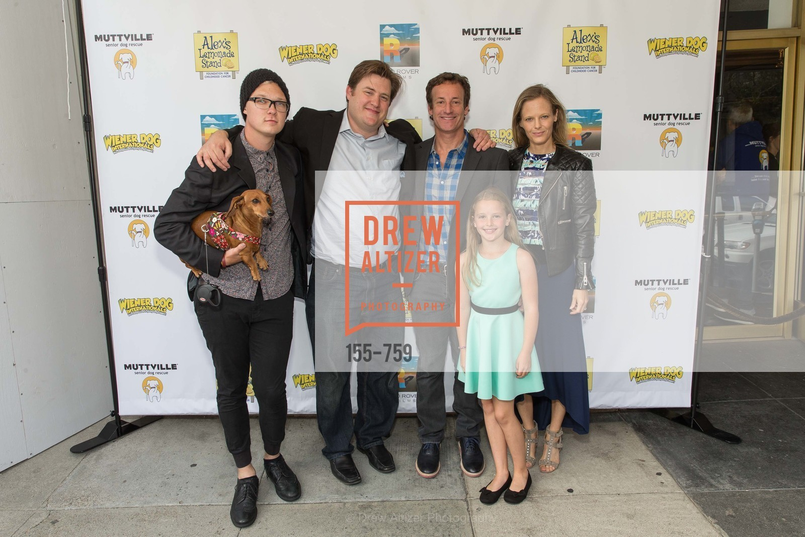 Austin Anderson, Kevan Peterson, Todd Traina, Daisy Traina, Katie Traina, WEINER DOG, The Movie, Screening, The Vogue Theater. 3290 Sacramento St, June 1st, 2015,Drew Altizer, Drew Altizer Photography, full-service agency, private events, San Francisco photographer, photographer california