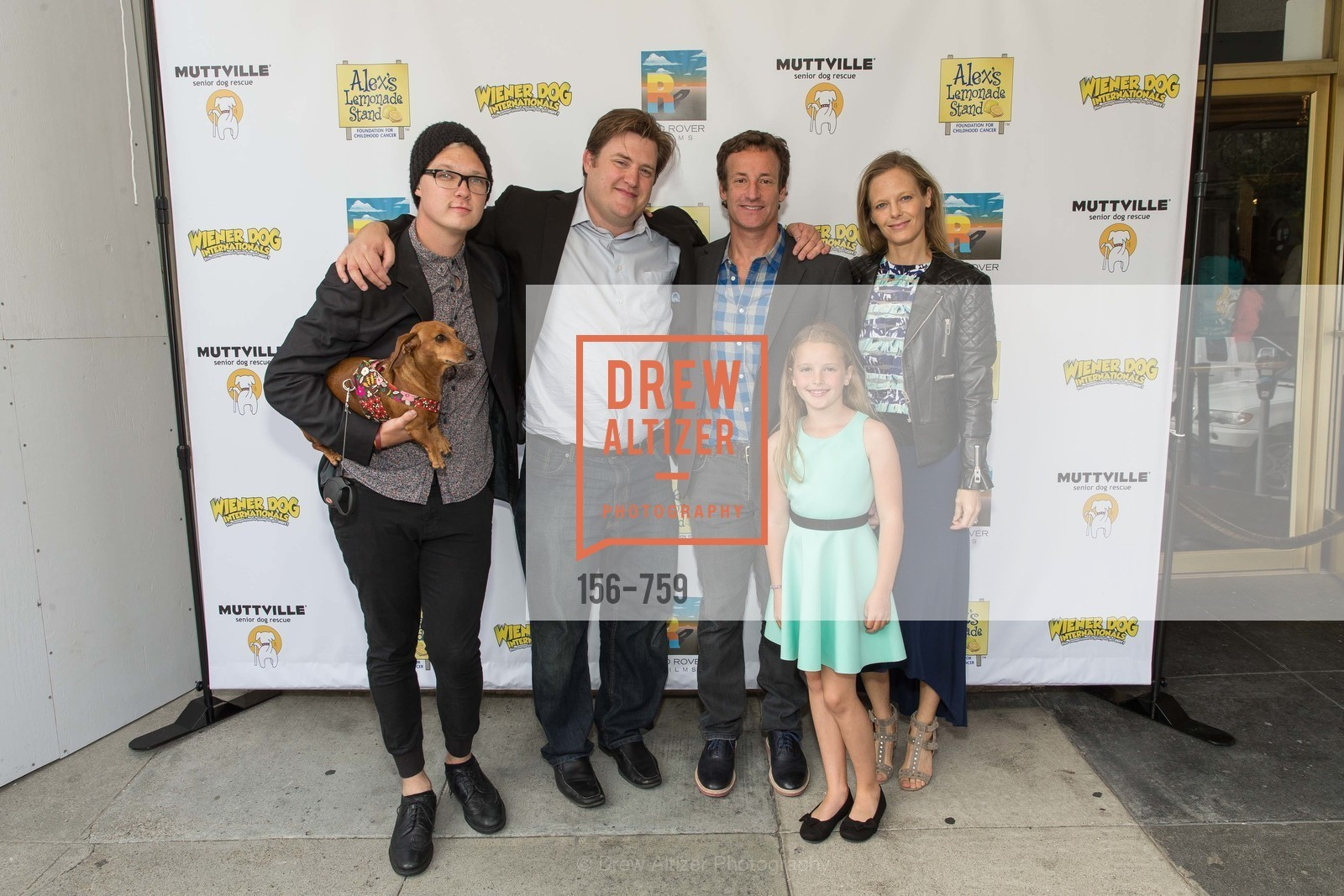 Austin Anderson, Kevan Peterson, Todd Traina, Daisy Traina, Katie Traina, WEINER DOG, The Movie, Screening, US, May 31st, 2015,Drew Altizer, Drew Altizer Photography, full-service agency, private events, San Francisco photographer, photographer california