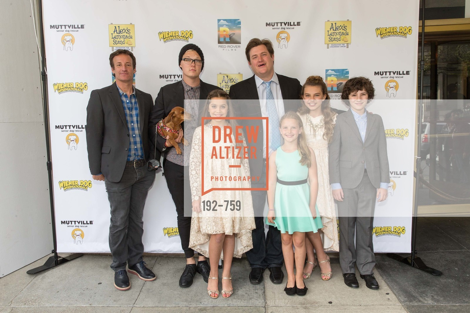 Todd Traina, Austin Anderson, Emmy Perry, Kevan Peterson, Daisy Traina, Caitlin Carmichael, Julian Feder, WEINER DOG, The Movie, Screening, US, May 31st, 2015,Drew Altizer, Drew Altizer Photography, full-service agency, private events, San Francisco photographer, photographer california